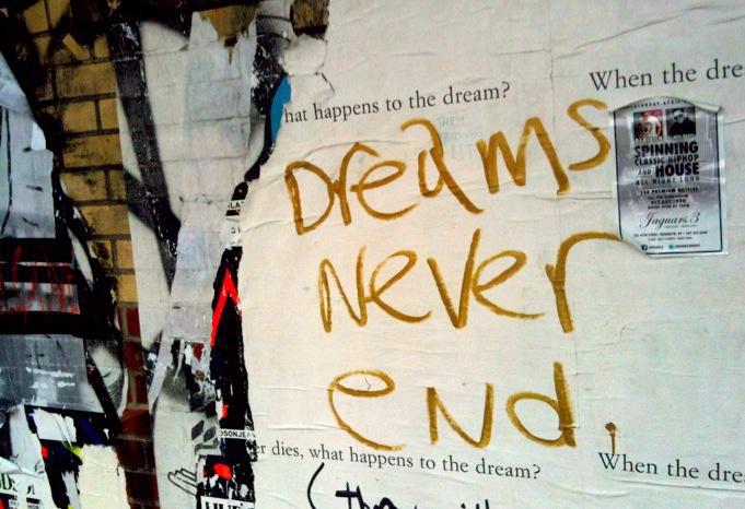 Dreams Never End, NYC 2012 © junbumshin   L.O.V.E.   Pinterest