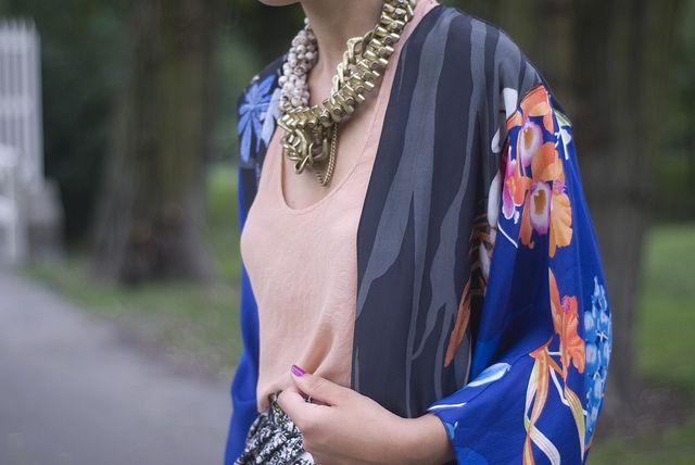 Chunky Chain + Kimono