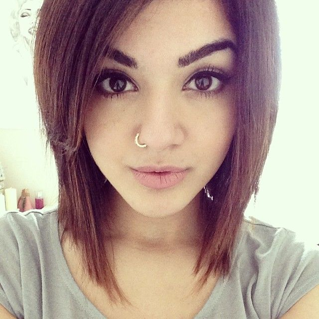 New hair, edgy bob! ModernDayShivalry | { Beauty Bomb } | Pinterest