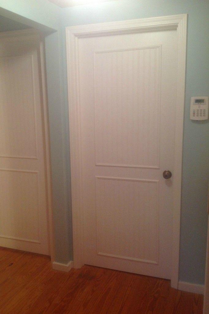 Cottage living room makeover for Cottage style interior trim