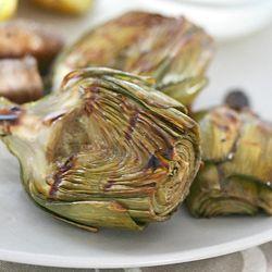 Grilled baby artichokes with lemon aioli | RECIPES - VEGGIE LOVE | Pi ...