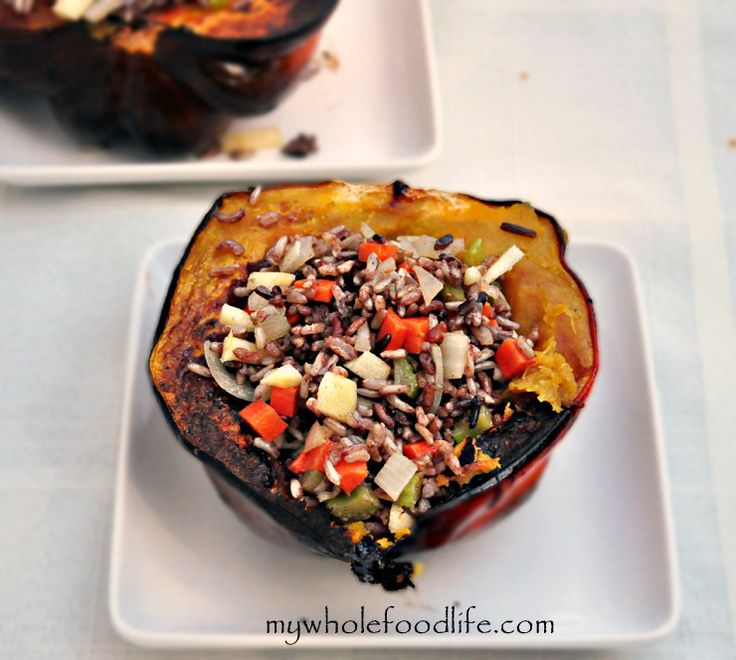 Stuffed-Acorn-Squash-My-Whole-Food-Life Will be making this for Emily ...