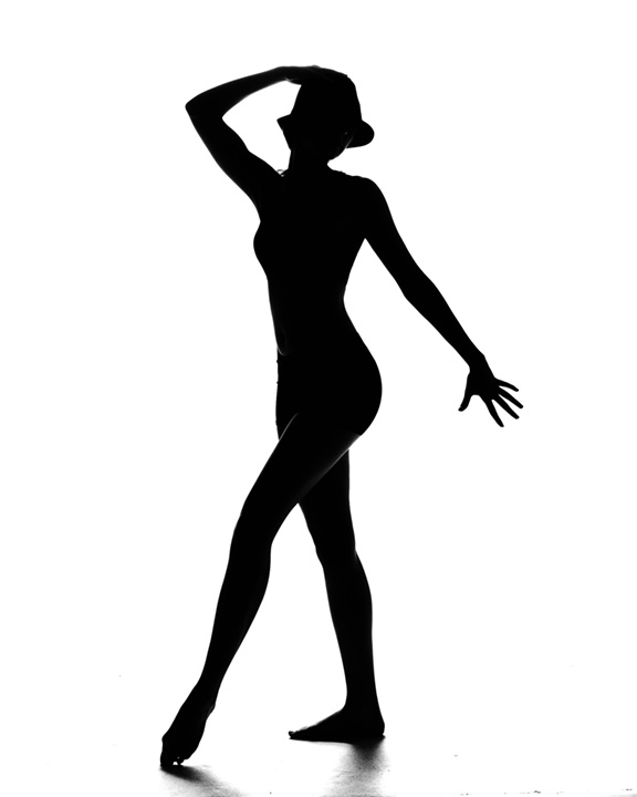 Jazz Dancer Silhouette Cake Ideas and Designs