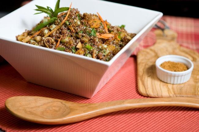 Moroccan Quinoa Salad | Post-Op Noms | Pinterest