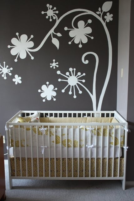 loving the grey baby rooms!