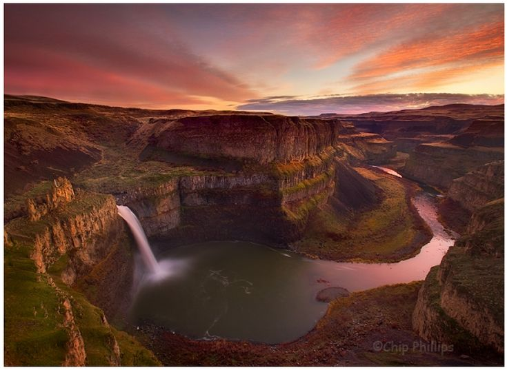 Palouse Falls Sunset {by Chip Phillips}