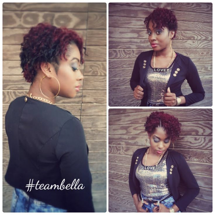 Crochet Hair Pixie Cut : Pixie Cut Success..... - Something more than an Afro Pinterest