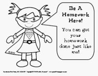everyone can be a homework hero and participate in the homework club ...