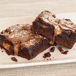 Sea Salt Caramel Brownies Allrecipes.com 1 package fudge brownie mix ...
