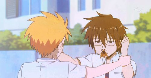 daily lives of high school boys this bee will lead to a kiss episode 8