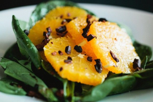 Salads Recipes: Orange Salad with Cocoa Nibs, Grilled Zucchini Salad ...