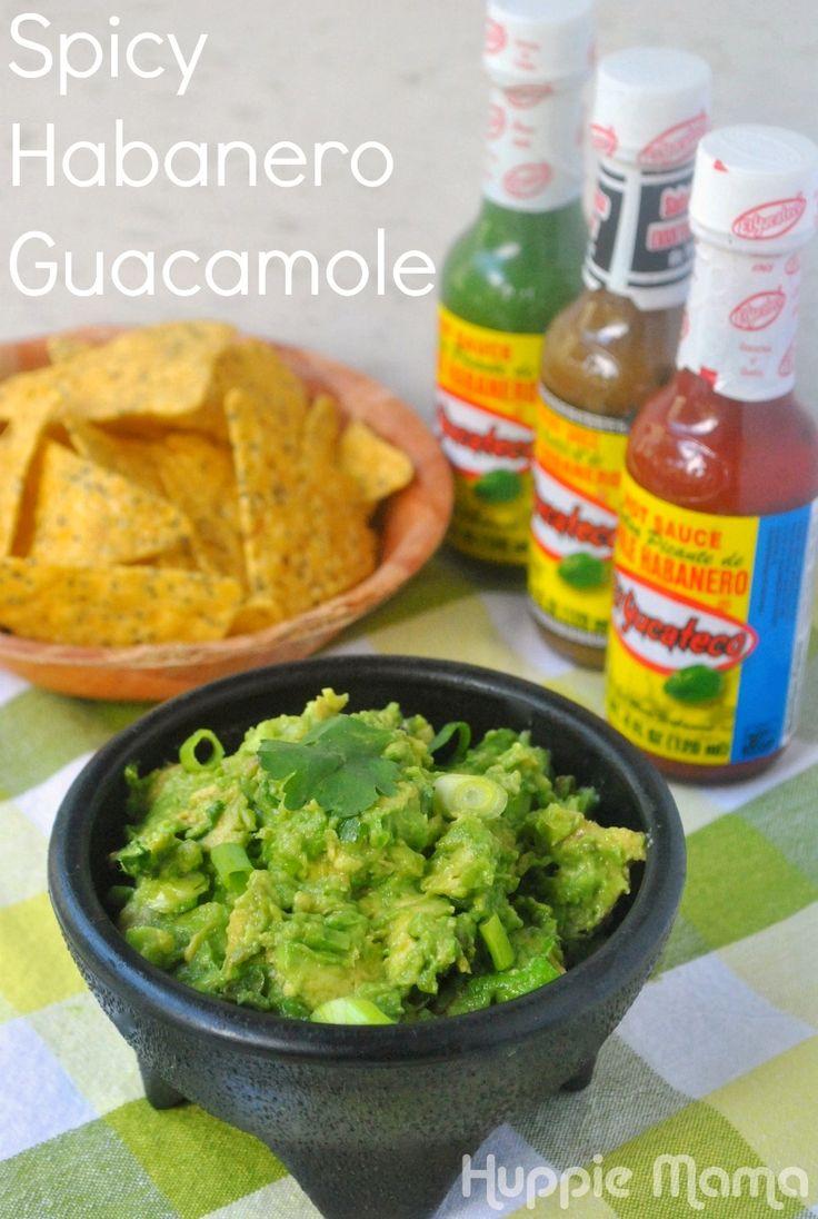 Spicy Habanero Guacamole Recipe #SauceOn #shop