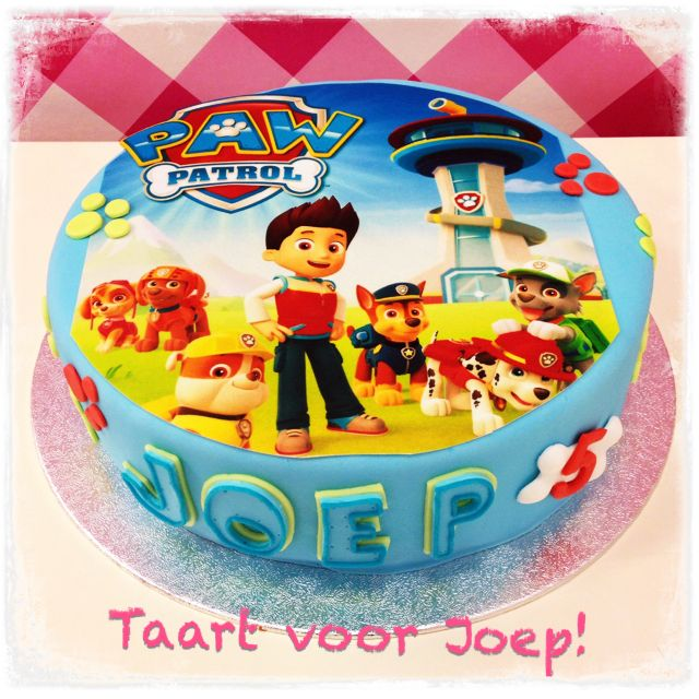 Images Of Paw Patrol Birthday Cake : Paw Patrol birthday cake Kids birthday ideas Pinterest