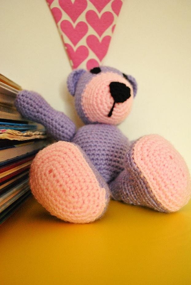 Oso de crochet