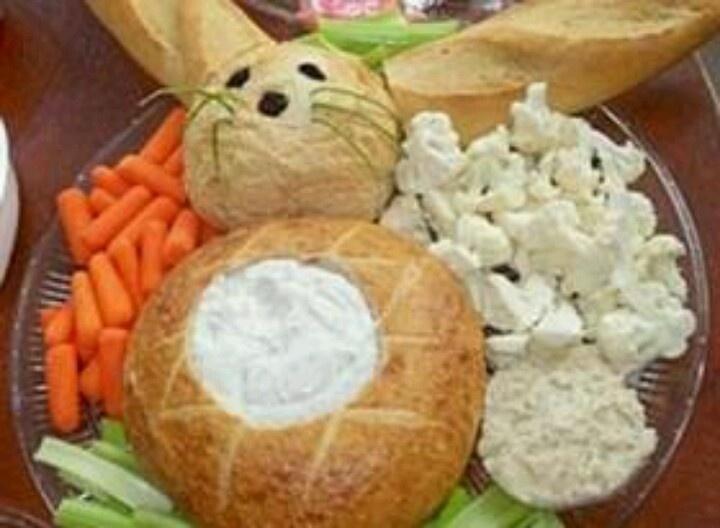 Bunny bread bowl