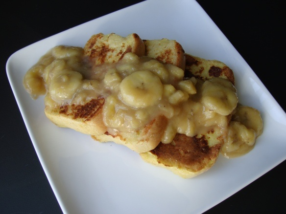 Bananas Foster French Toast | CAKES/COOKIES ETC | Pinterest