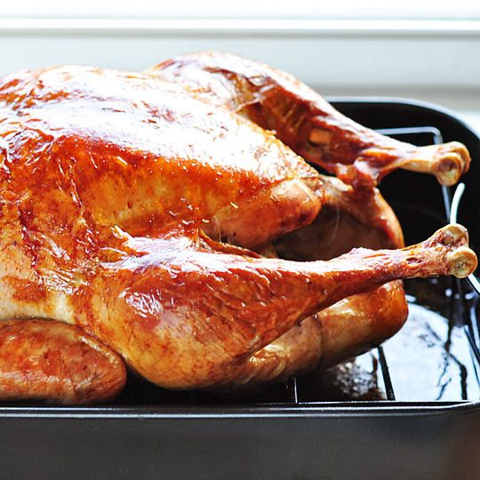 The simplest way to cook a turkey