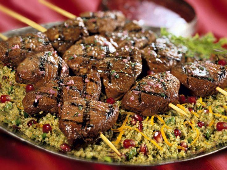 Middle Eastern Lamb Kebabs Recipe — Dishmaps