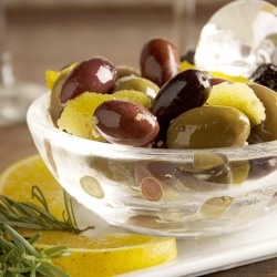 Citrus-Marinated Olives by pictureperfectmeals