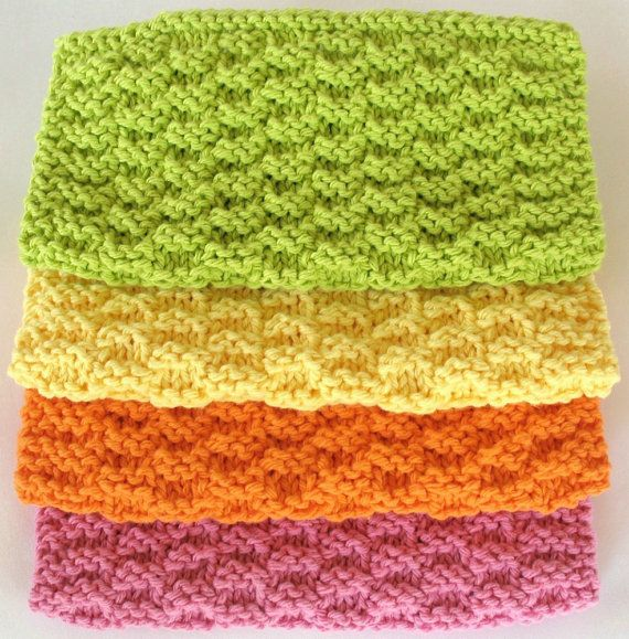 Free Knitted Slipper Patterns For Children : Knitting Dishcloth Afghan Fabriccom Blog
