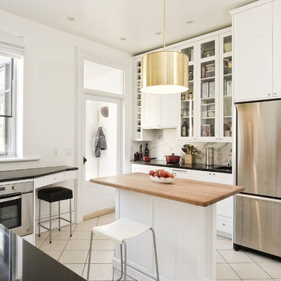 Houzz Small Kitchen Kitchen Remodel Pinterest