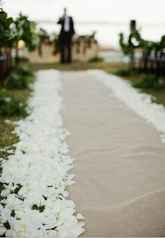 Rose petals are a great compliment to wedding flowers and can really spruce up a wedding venue! Even simple white rose petals can make a huge impact on the look and feel of a setting. Rose petals are available in a wide variety of colors year-round from GrowersBox.com.