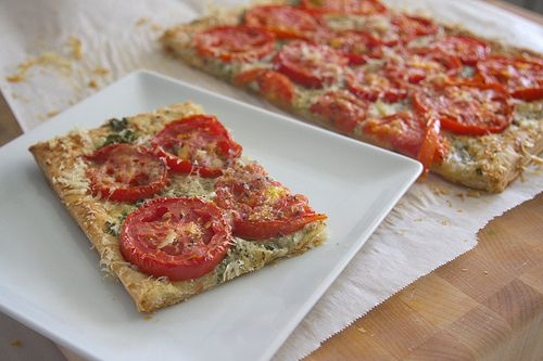 Three Cheese & Herb Tomato Tart Not just yummy but the story that ...