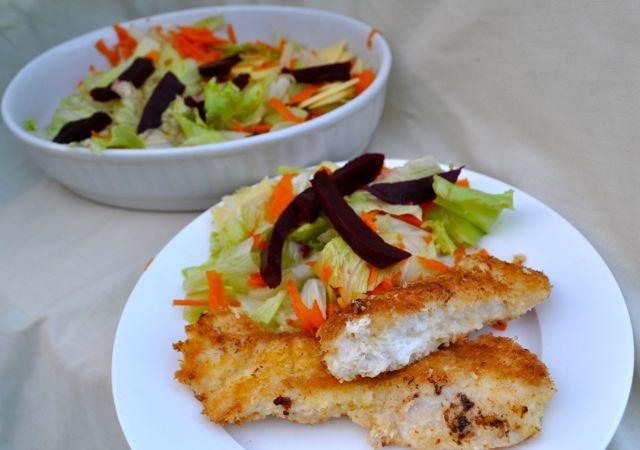 Coconut Chicken Schnitzel Gluten Free http://www.savvymumma.com/2012 ...