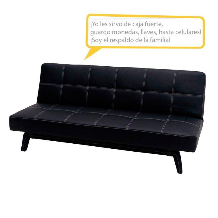 Adquiere un comodo sofa cama modelo pab150n1s de for Sofa cama 2 plazas falabella