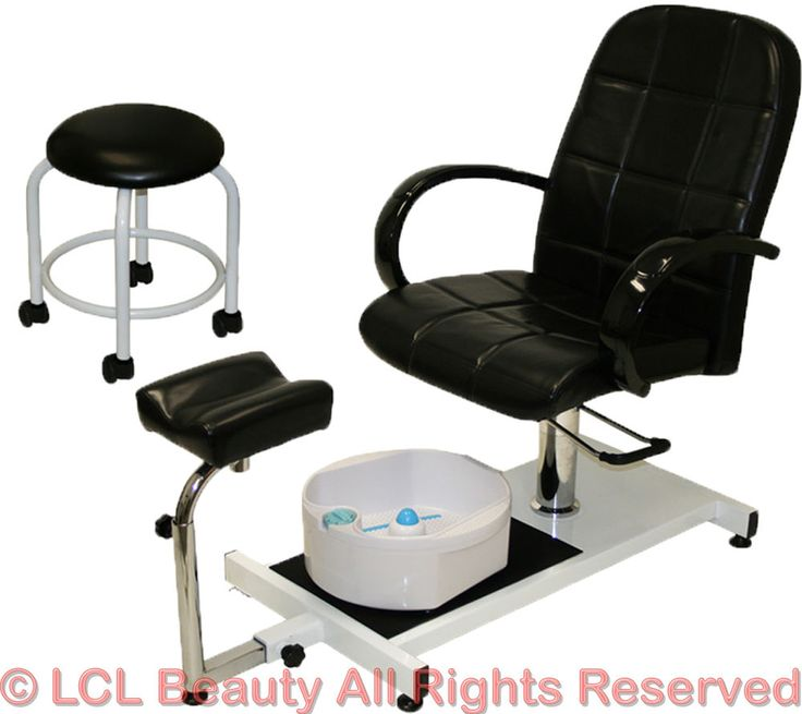 Pedicure unit station hydraulic chair massage foot spa for Nail salon equipment