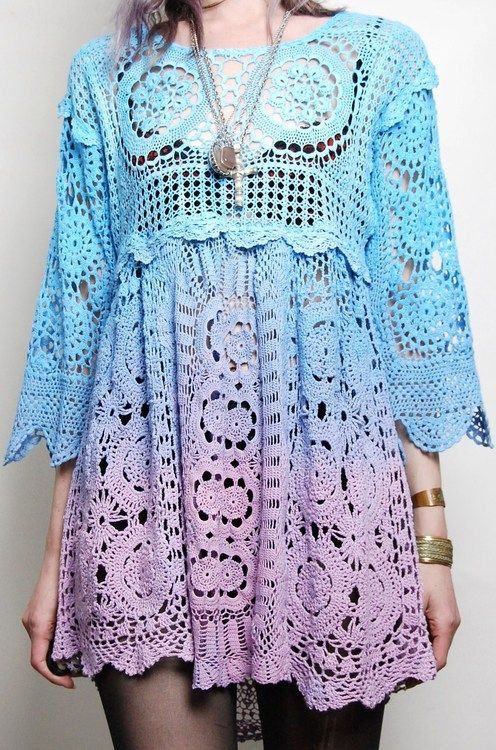 Crochet Clothing : crochet dress Tumblr Cathys Dream Closet Pinterest