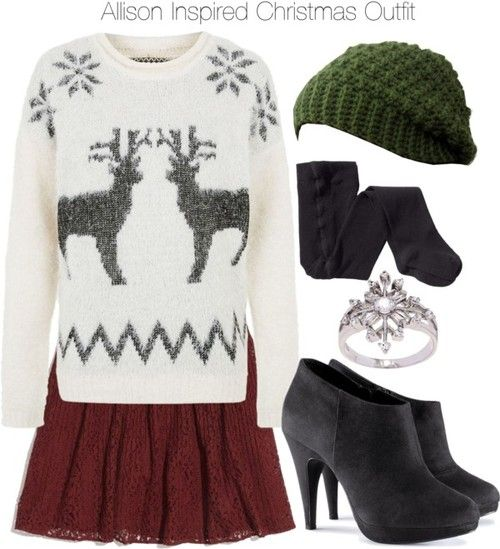 Allison inspired christmas outfit what to wear what to wear pint
