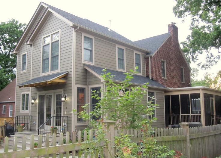 Addition to a 1940 brick colonial for the home pinterest for Colonial home additions