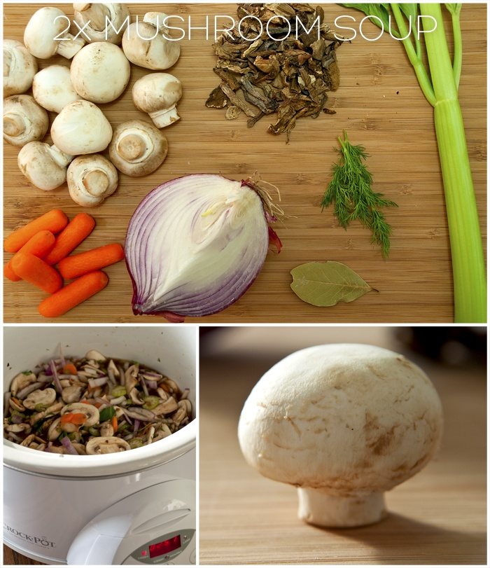 This week we tried double mushroom soup in the crock pot. With a ...