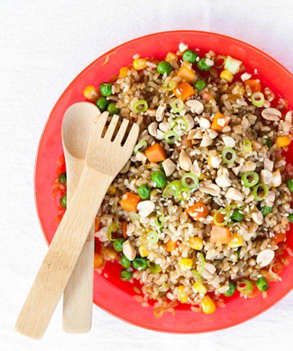 Quick Fried Rice | Vegetarian | Pinterest