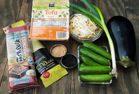 Otsu Noodles (Sesame Soba Noodles) | Tofu Tempeh Miso | Pinterest