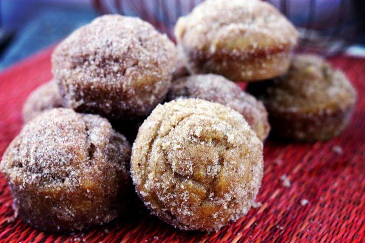 Pumpkin Doughnut Muffins | Food, Recipes & Kitchen Goods | Pinterest