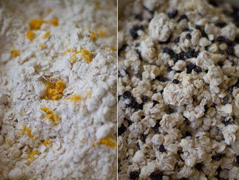 Orange and Oat Scones Recipe (uses wheat pastry flour) #baking #scones ...