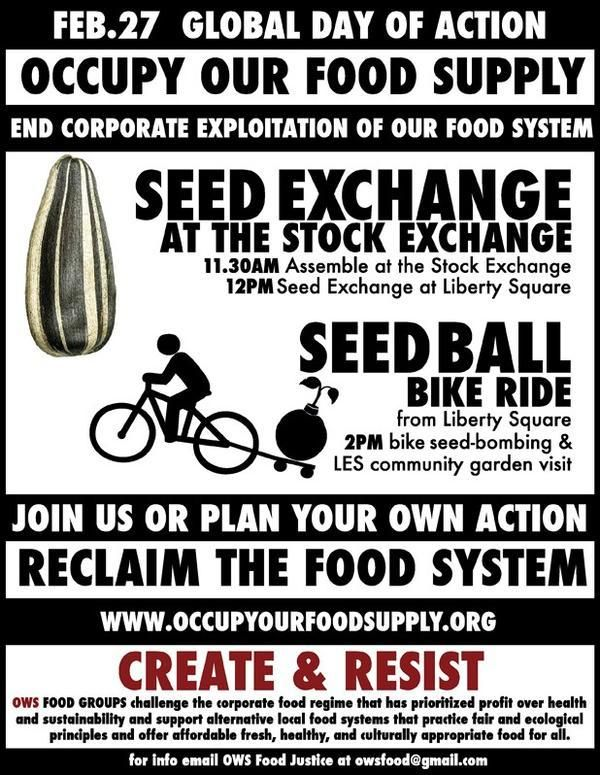 February 27, 2012. Seed Exchange at the Stock Exchange.