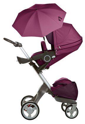 Stokke xplory parasol purple pantone2014