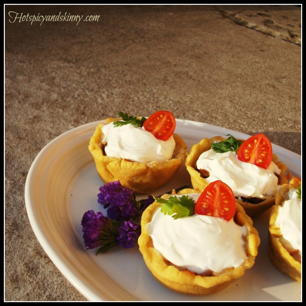 Taco Dip Mini Tmale Pies The crust is made from masa flour, will be ...