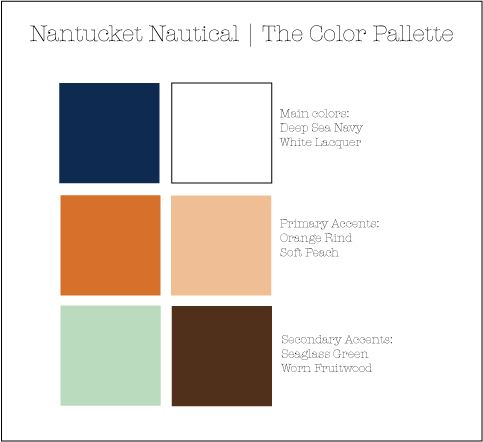 nantucket nautical colors by the sea designs pinterest