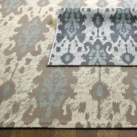 belgrado ikat indoor outdoor rug ballard designs monterey - Ballards Home Design