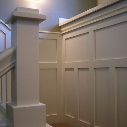 Shaker style wainscoting craftsman and cottage style for Shaker style home plans