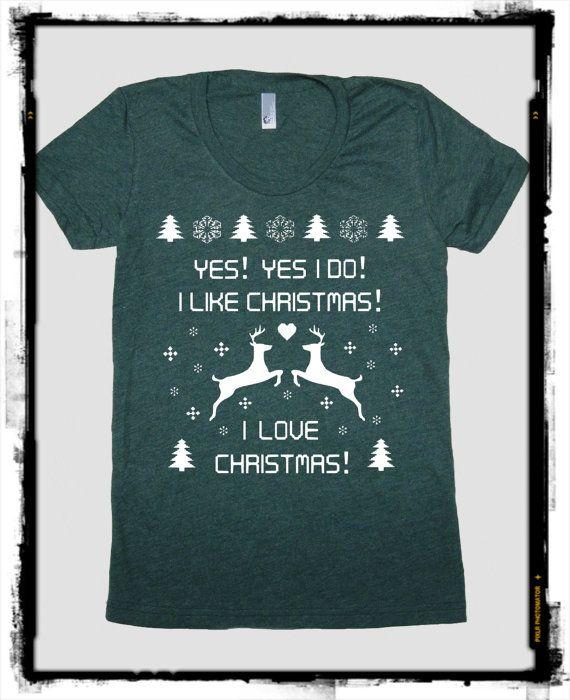 Santas Ugly Christmas Sweater T-Shirt