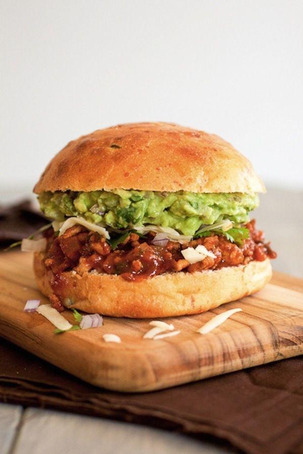 Tex Mex Sloppy Joe | Choose Your Own Super Bowl Sandwich Adventure # ...