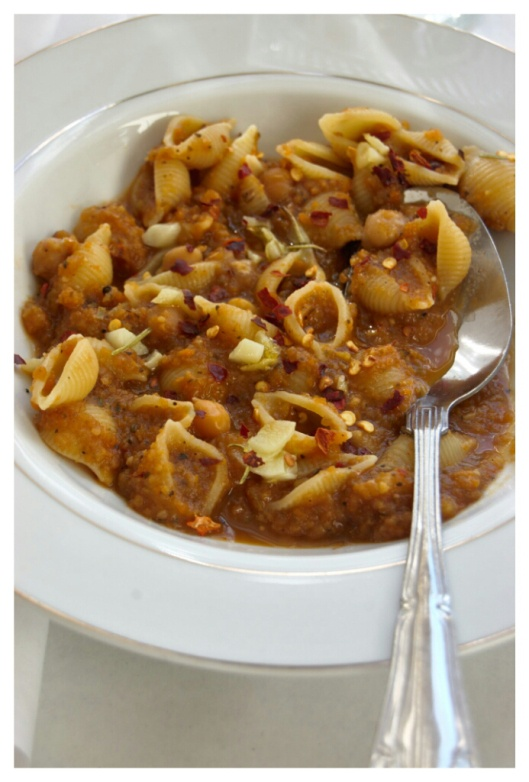 Pats e ceci (pasta with chickpeas) from bon appetit. {naivecookcooks ...