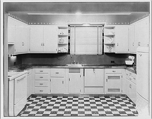 Kitchens with a sense of 1930 39 s style a new house for 1930s style kitchen design