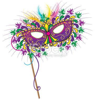 Mardi Gras mask vector art | Mardi Gras | Pinterest
