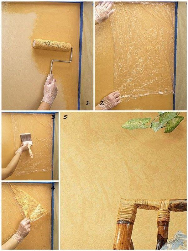 Как сделать стену краской